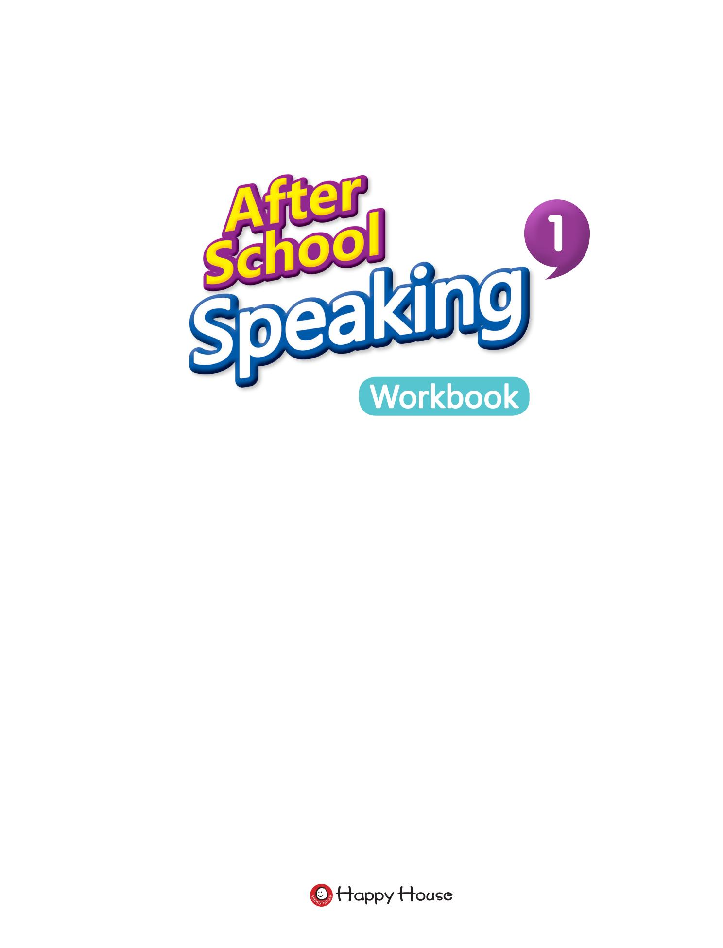 After School Speaking BOOK 1_WB