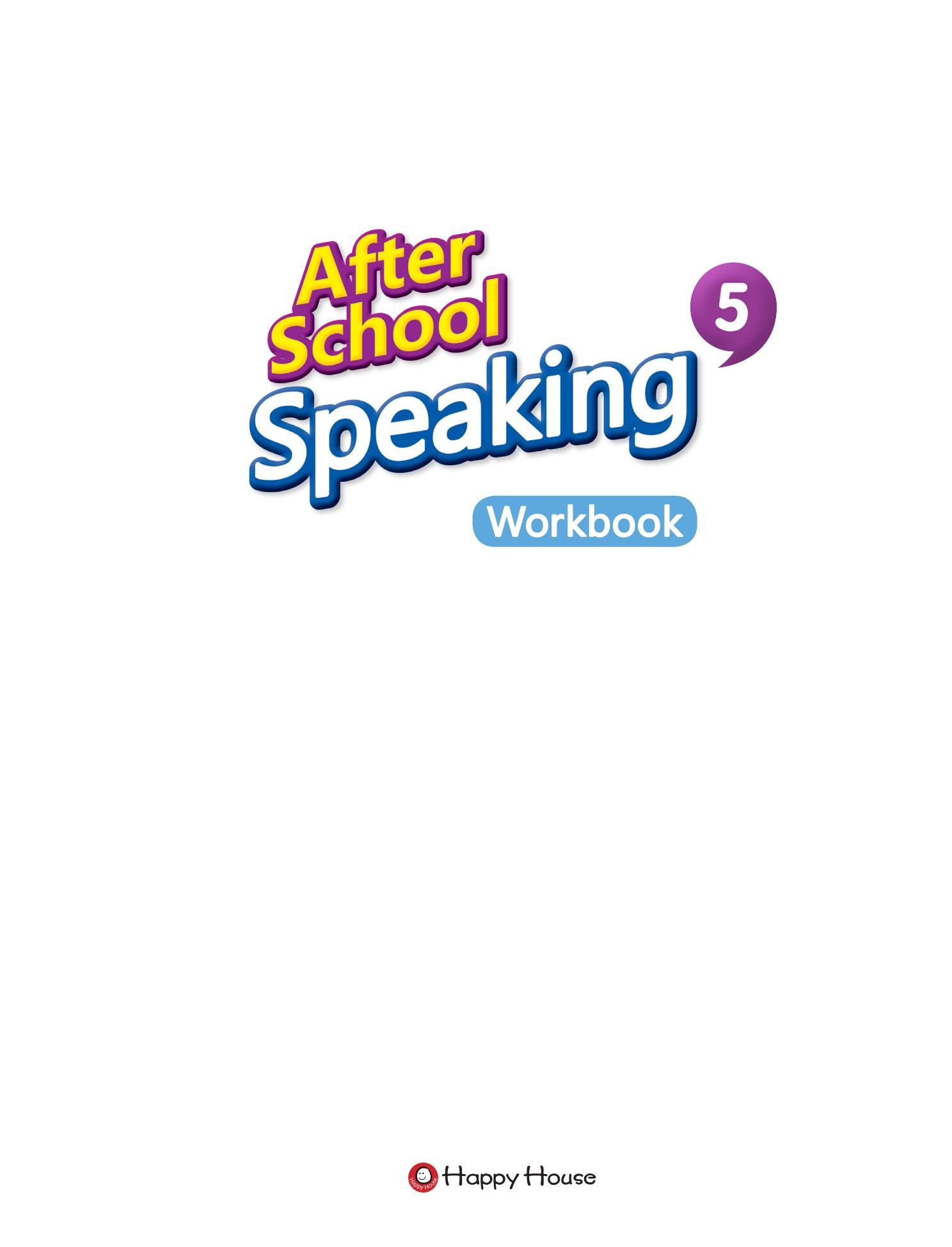 After School Speaking BOOK 5_WB